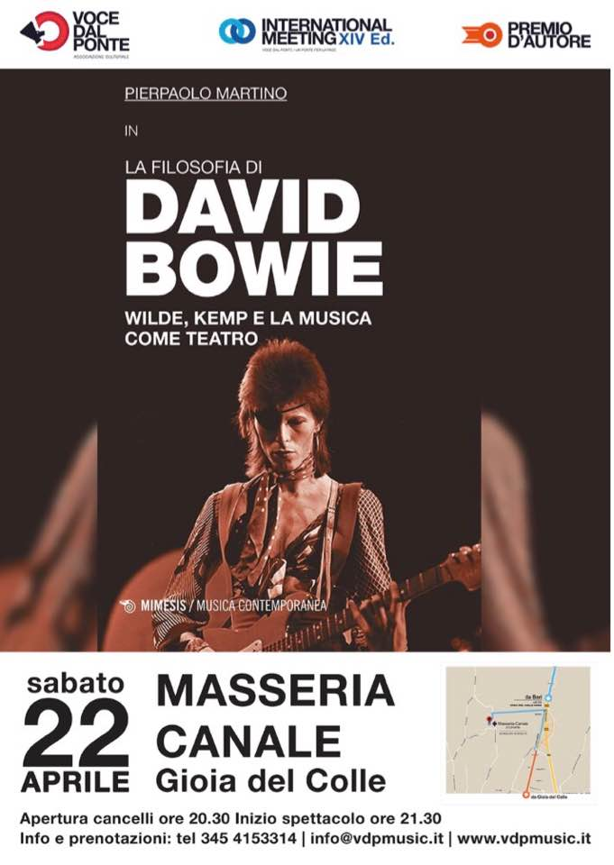 masseria canale  tributo a david bowie