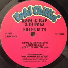 KOOL G RAP & DJ POLO:KILLER KUTS(LABEL SIDE-A)