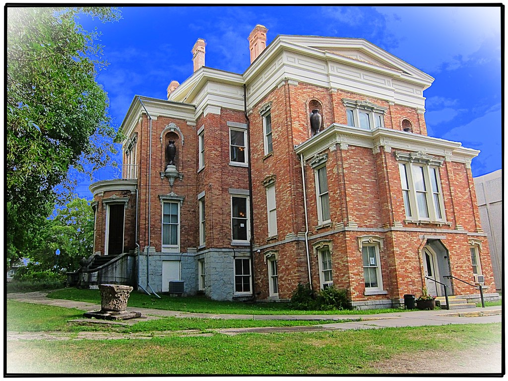Dr Sylvester Willard Mansion 1843 Auburn Ny Back Of