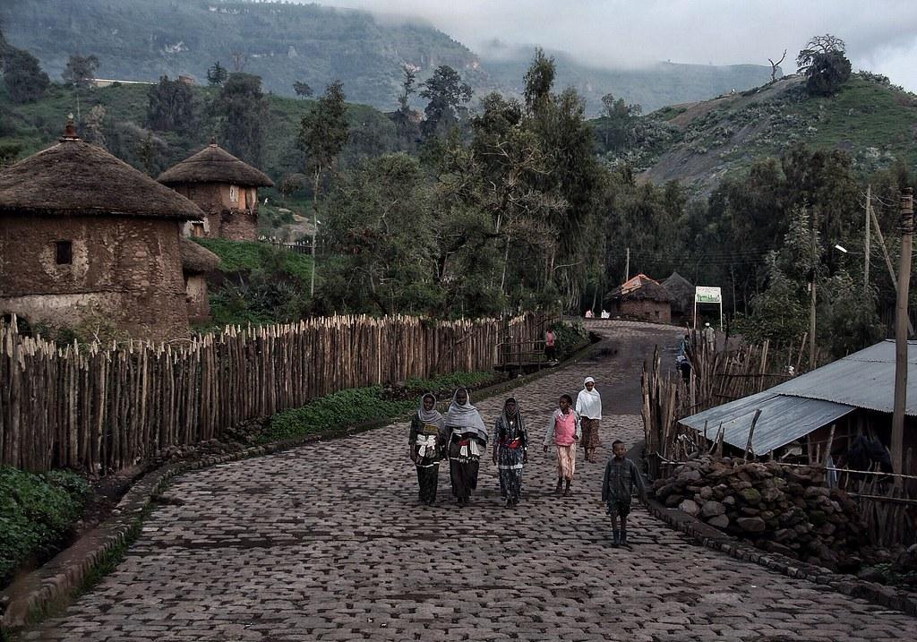 Lalibela Village, Ethiopia