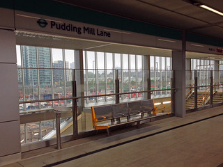 New Pudding Mill Lane station | by diamond geezer