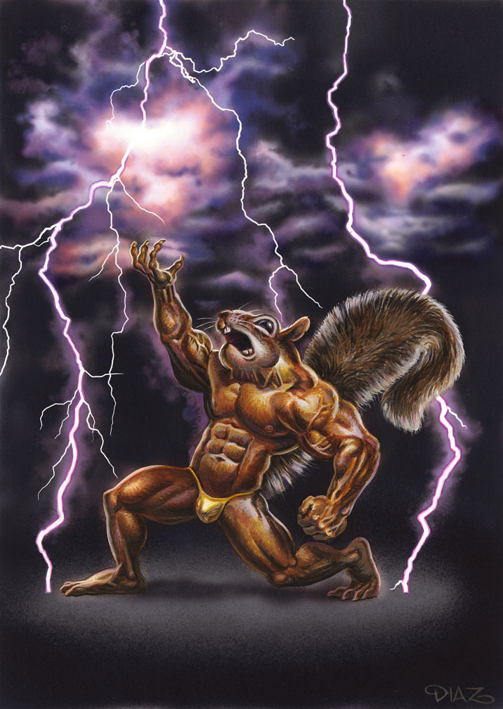 muscular squirrel