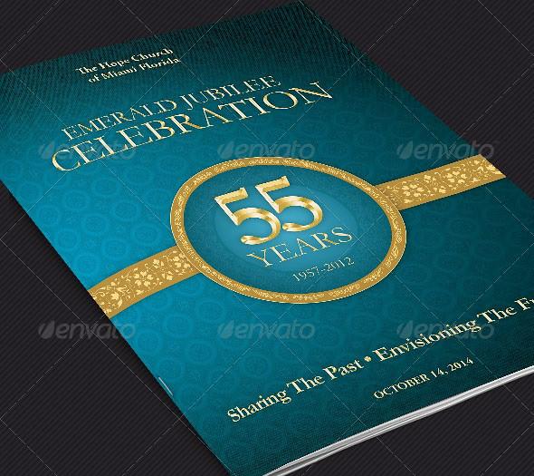 church anniversary program cover template the church anniv flickr