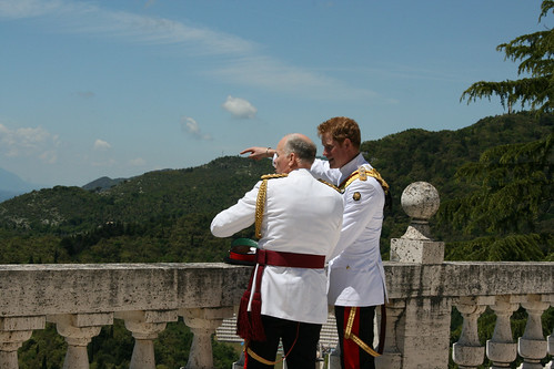 Prince Harry visits Monte Cassino Abbey | by UK in Italy