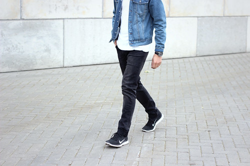 Men Nike Flyknit Free Style Denim Jacket Shout Out To You Flickr