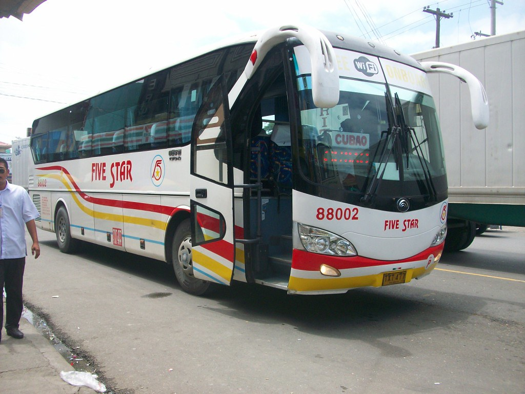 Pangasinan Five Star Bus 88002 By Dli 7227787 Operated By Boy Dalin Liner