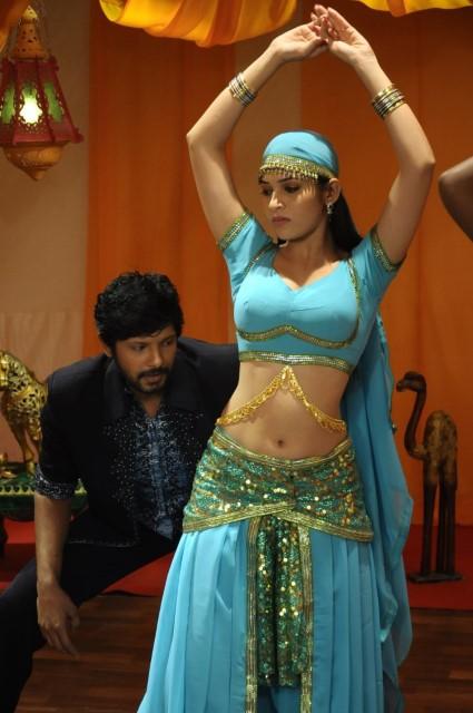 Actress Sanyathara Navel By Tech Uday