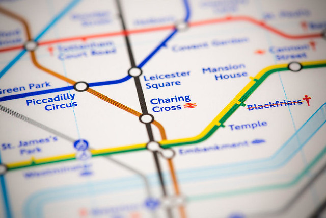 London Transport - Tube map - Victor Maschek : Shutterstock