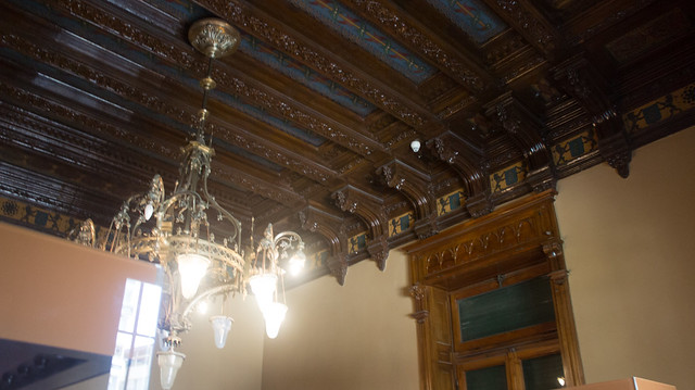 The Ceiling of an Arabian chamber