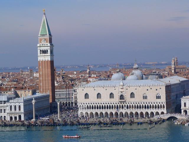 Piazza de San Marco desde San Giorgio Maggiore (Venecia)
