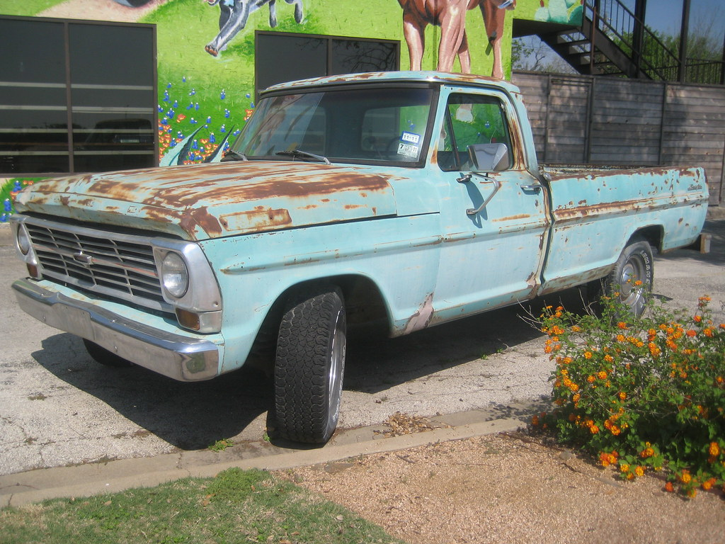 1969 Ford F100 Pickup Austin Texas Roadie1995 Flickr Short Bed By