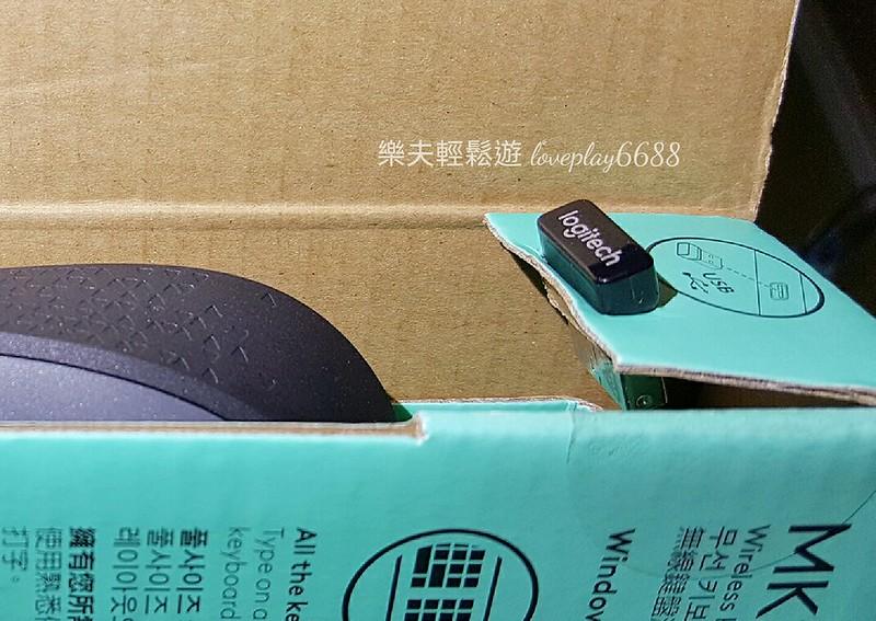 羅技 MK235 MK170 無線滑鼠鍵盤組
