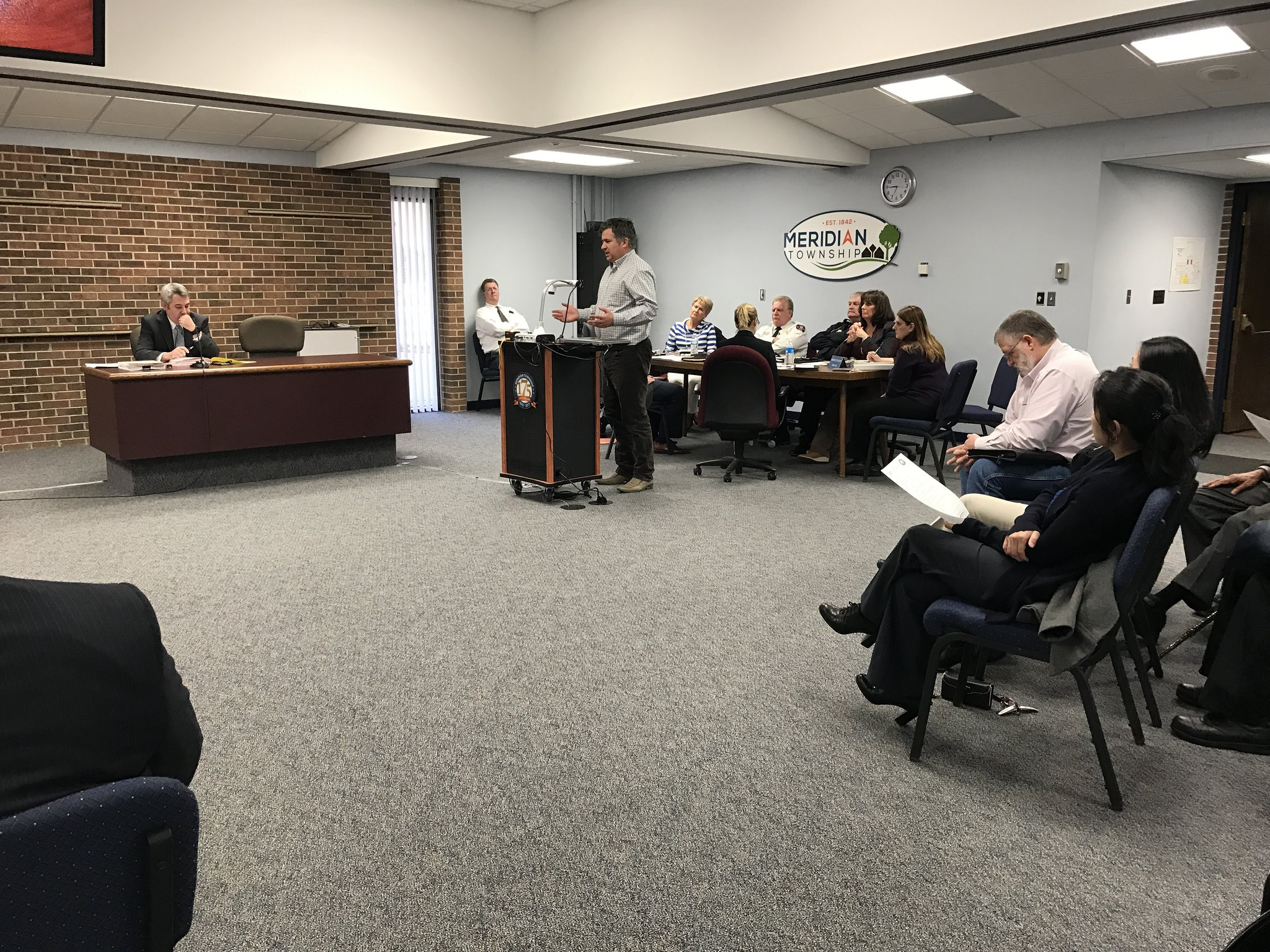 Township Board Discusses How Residents Will Pay Back for New Sewer Installations