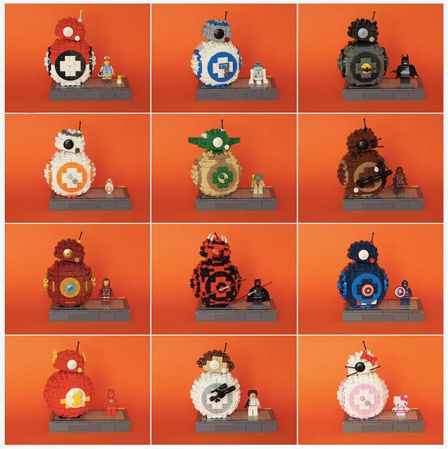LEGO BB-8 licences