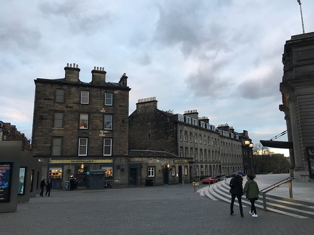 Edinburgh, theater area