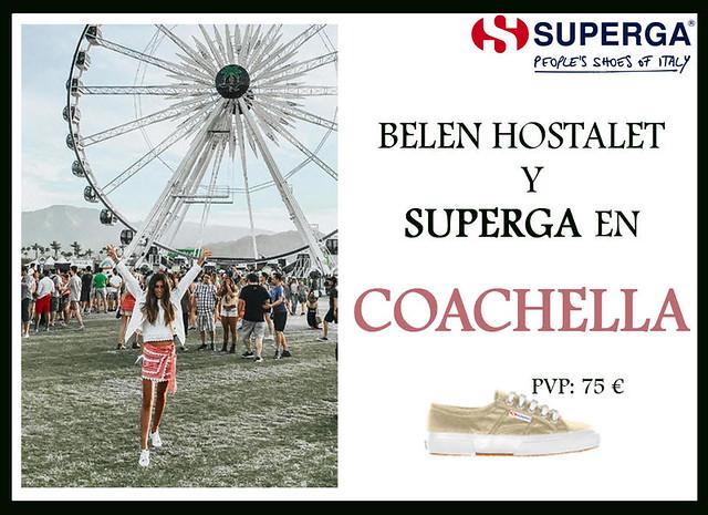superga y Belen Hostalet - coachella