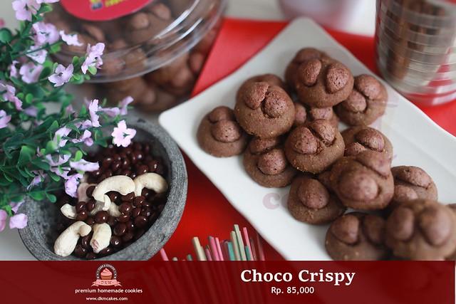 Choco Crispy DKM COOKIES