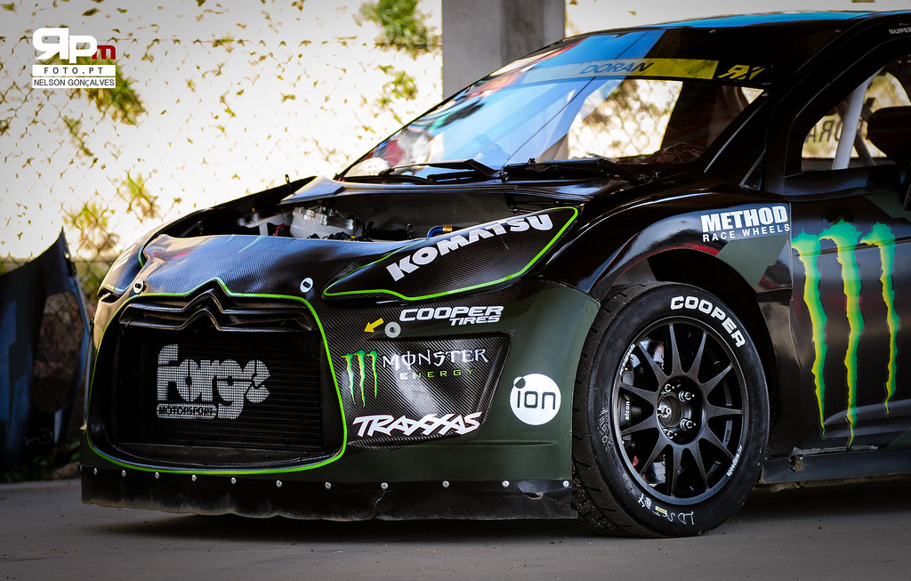 Liam Doran - MONSTER ENERGY CITROEN DS3 RALLYCROSS SUPERCA… | Flickr