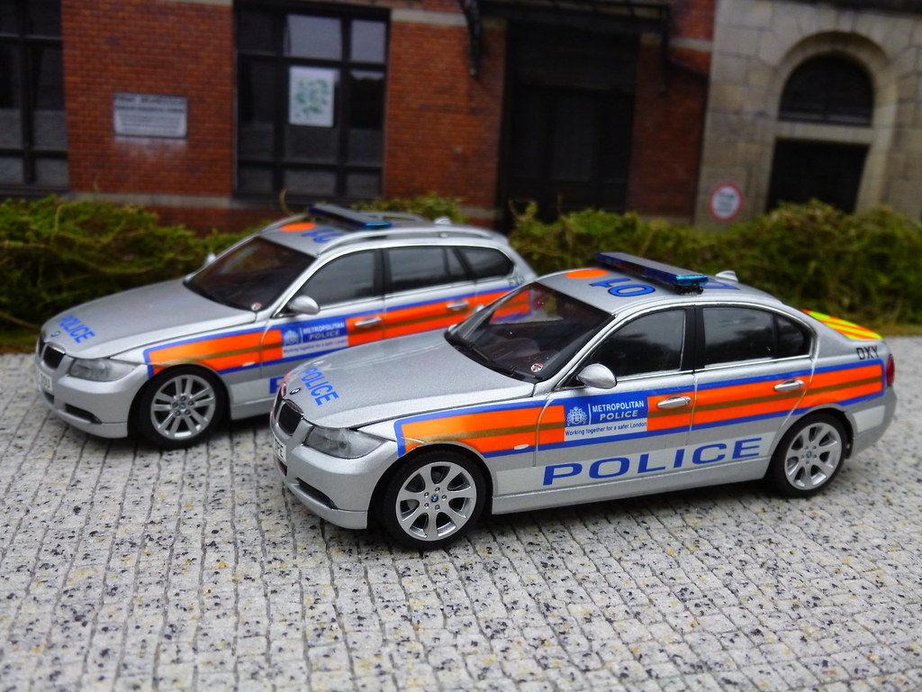 Police Light Bars >> 1/43 Code 3 Minichamps BMW 3 Series Saloon & Touring Met P… | Flickr