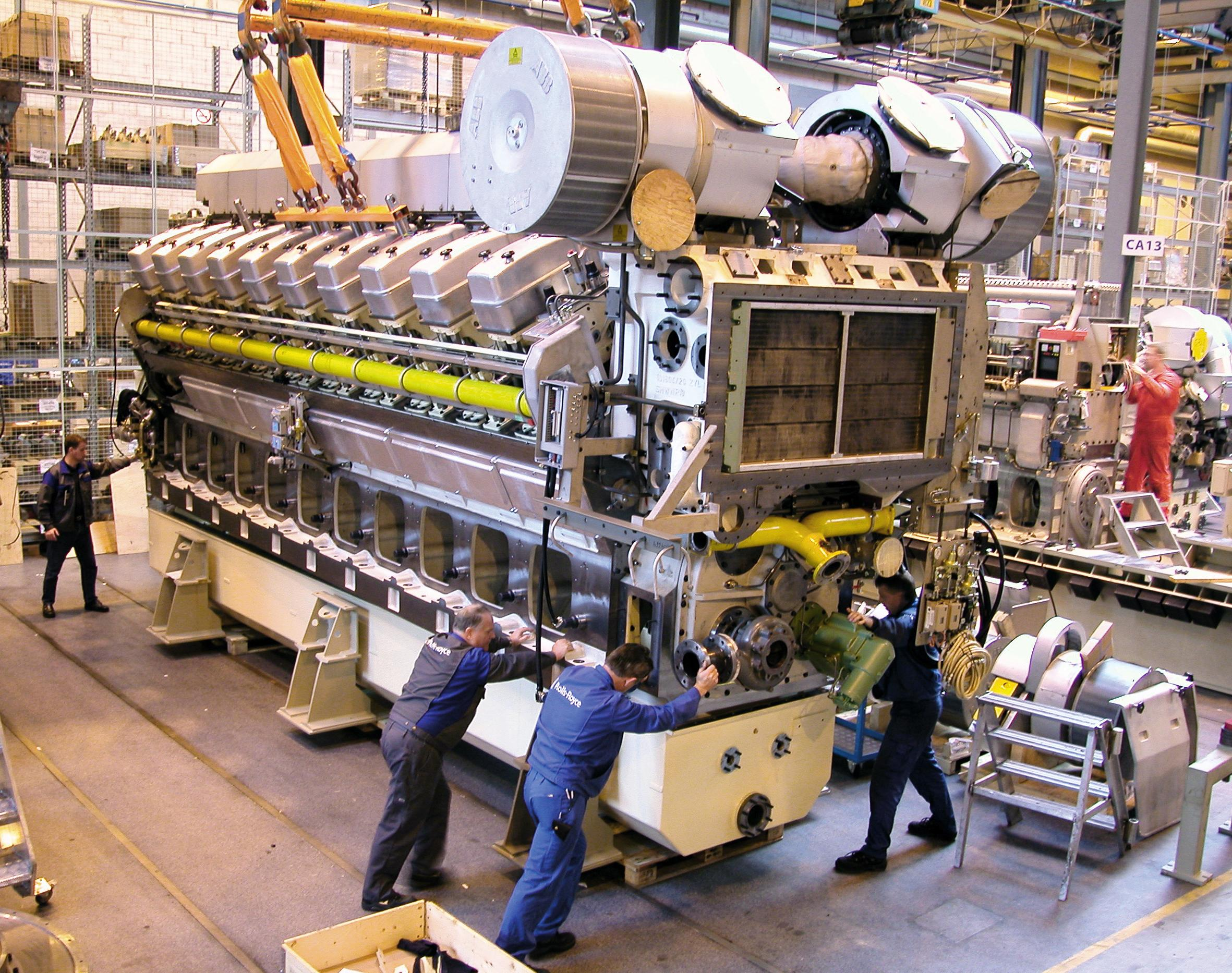 All sizes | Bergen B35:40 V20 Gas Engine | Flickr - Photo Sharing!