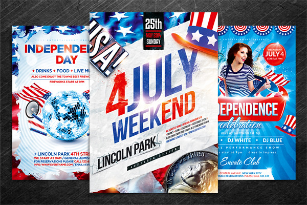 Independence Day Flyer Bundle Psd Template  Independence   Flickr