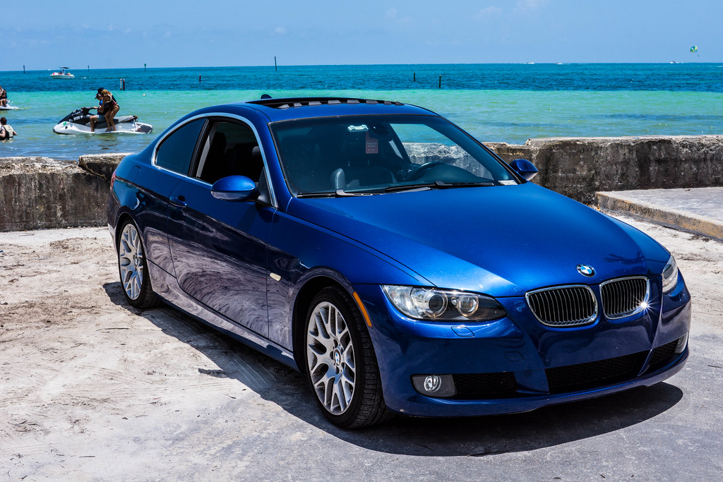 BMW I Coupe Key West BertoUCF Flickr - 2008 bmw 328 coupe