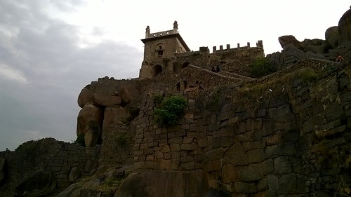 Golconda Fort | by IndianTinker