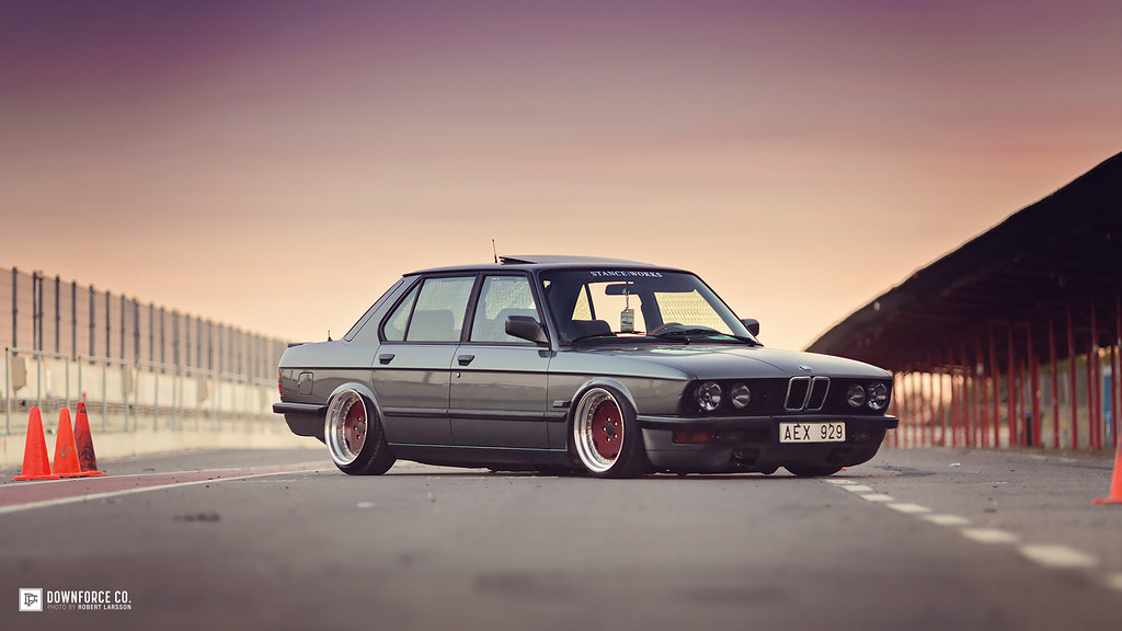 Bagged E28 Www Squareddesign Se Robert Larsson Flickr