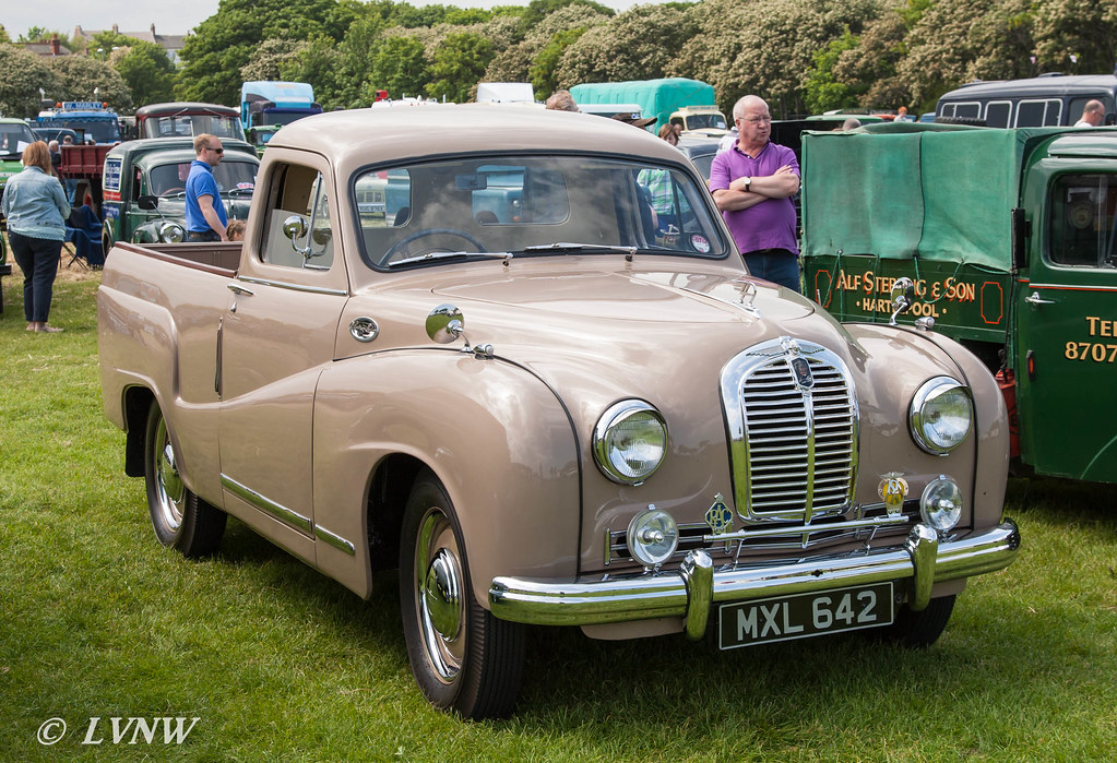 1952 Austin A70 Pick Up Mxl642 Seen Here At The Tyne