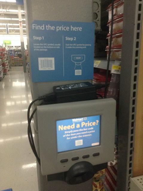 Walmart Price Scanner Checker Flickr