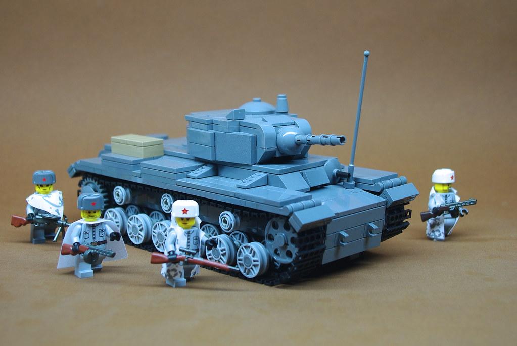 Soviet Kv 1s Heavy Tank 1 Turret Rotates Gun