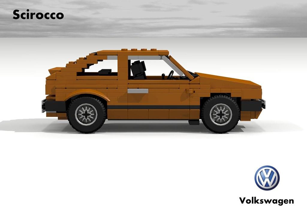 Vw Scirocco Mki 1974 Volkswagen Began Work On The Car