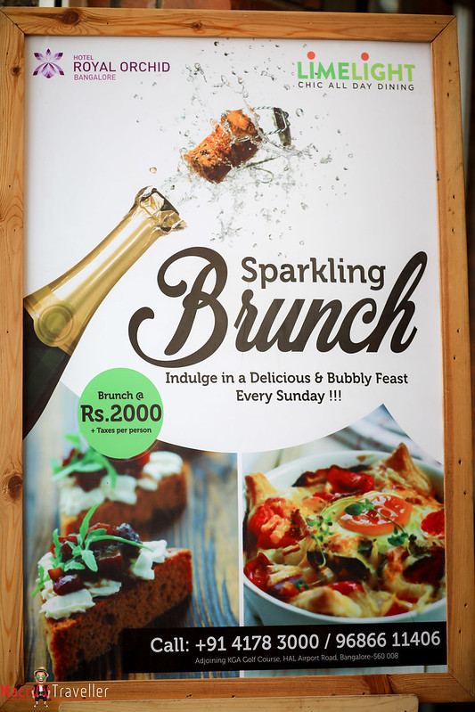 Lavish Sunday Brunch : Royal Orchid Old Airport Road
