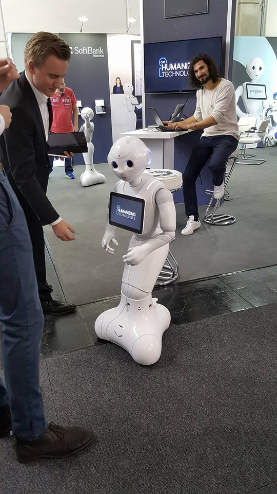CeBIT impressions - 3d printing and Dancing Robots / Artificial Intelligence — Steemit