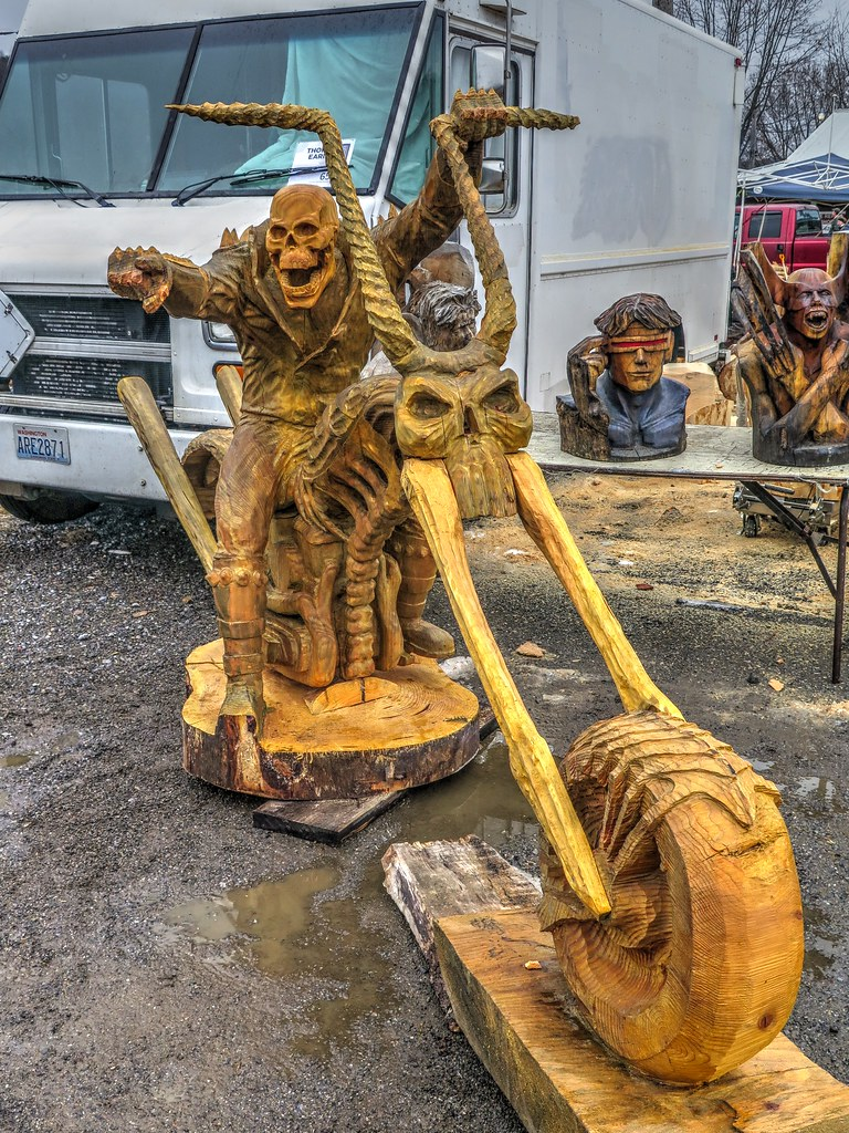 Ridgway chainsaw carvers rendezvous jim hoover flickr