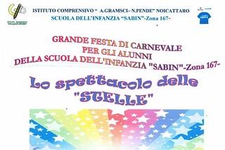 Noicattaro. Festa di Carnevale alla Sabin front