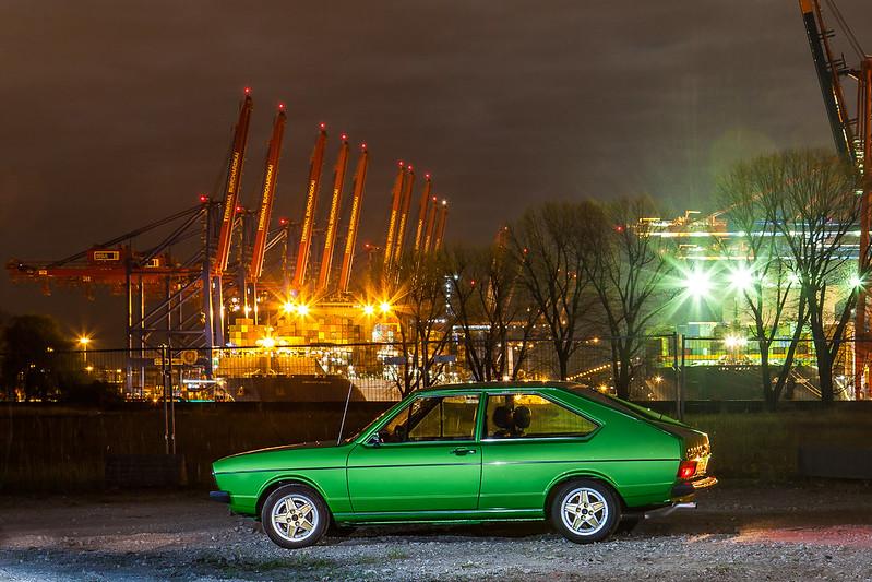 VW Passat TS B1 viperngrün