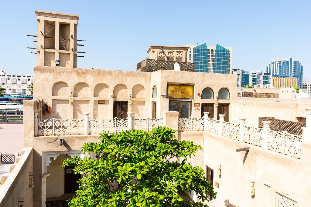 Spaziergang durch das alte Dubai via lunchforone