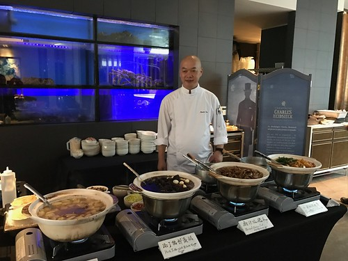VLV - Executive Chef Martin Foo at the Live Station during the Weekend Dim Sum Brunch