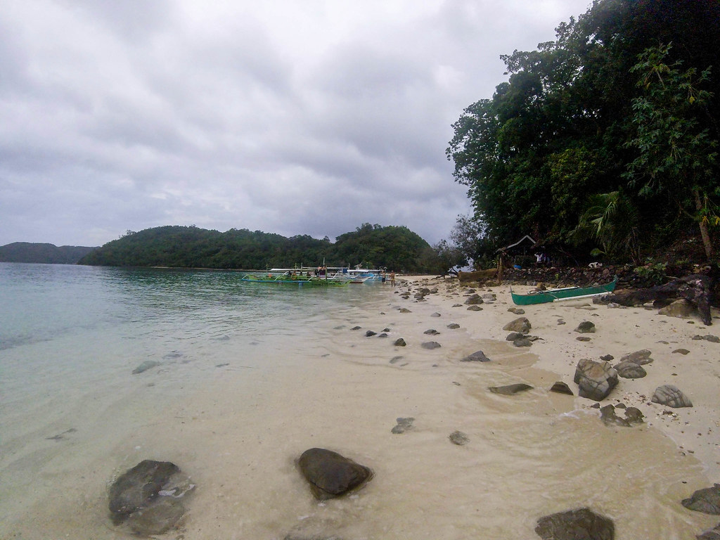 Exotic island Port Barton