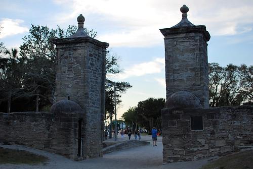 old city gates.