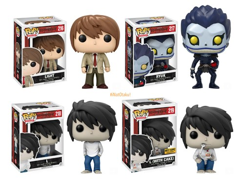 DEATH NOTE Pop!Vinyls by Funko