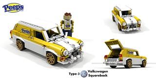 VW Type-3 Squareback - PEEPS