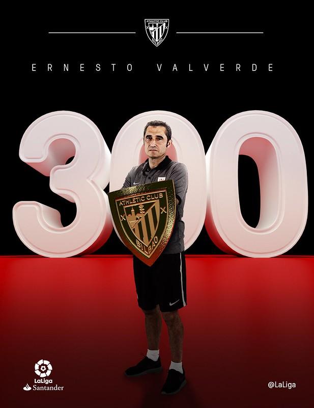 300 partidos de Ernesto Valverde con el Athletic de Bilbao