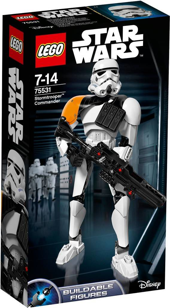 LEGO Star Wars 75531 - Stormtrooper Commander