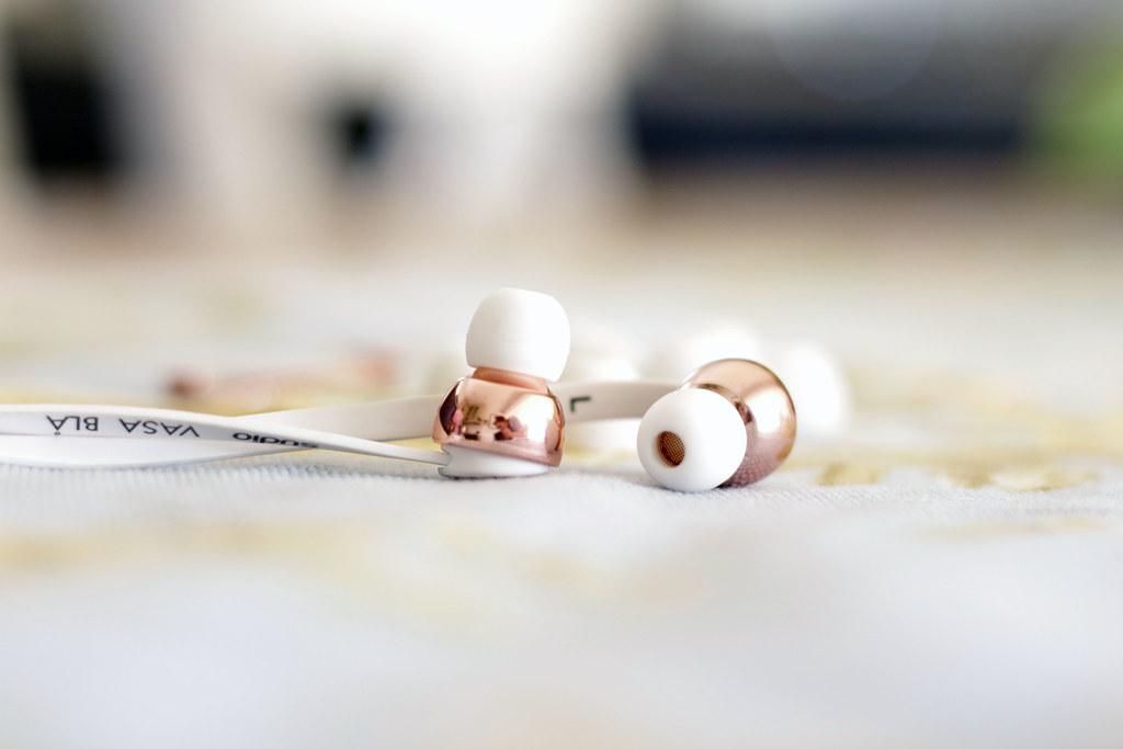 Sudio Headphones Rose Gold
