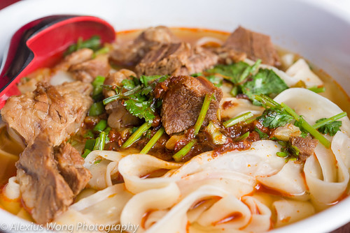 Spicy Beef Noodles, NW Chinese Food