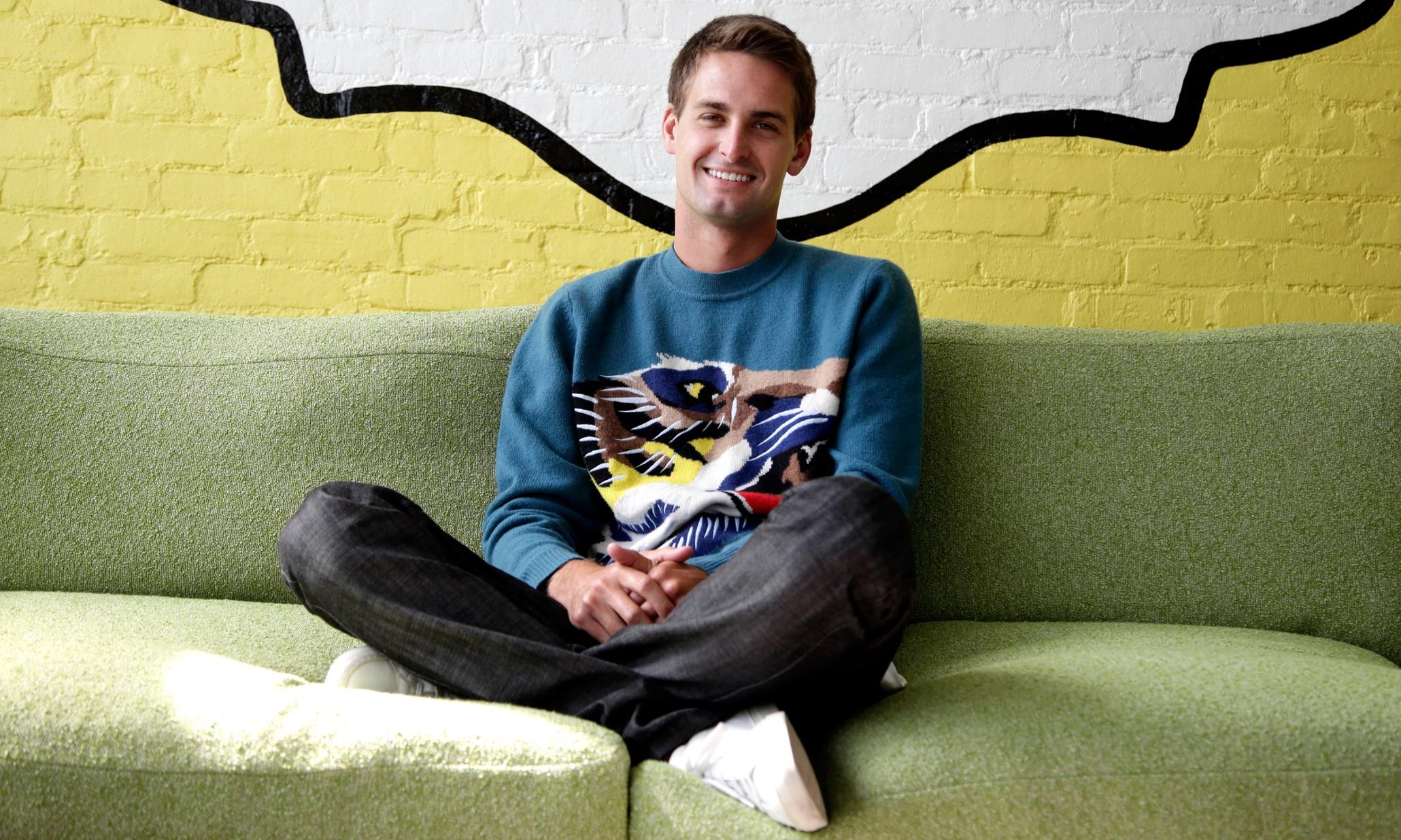 tỷ phú trẻ nhất thế giới, Evan Spiegel, Snapchat