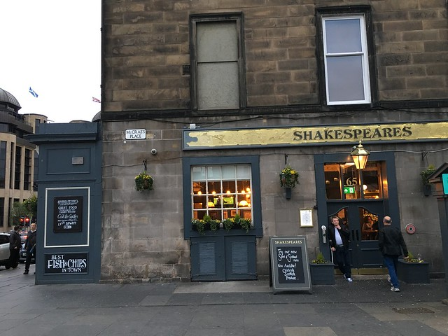 Edinburgh,  Shakespeare's Bar
