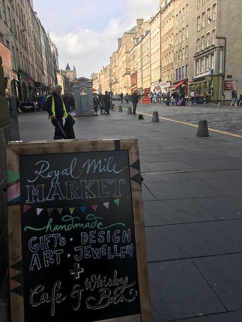 Edinburgh, Royal Mlle Street April 9. 2017